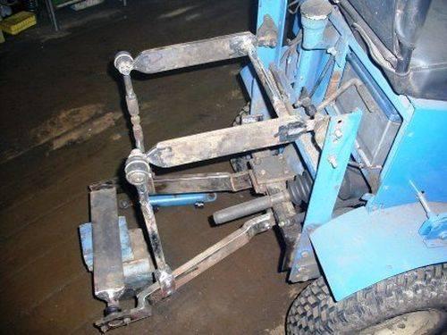 Навеска трактора своими руками