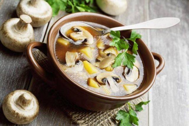 Сколько жарить маринованные грибы